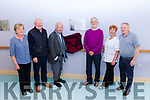 A plaque with a verse from poet Brendan Kennelly was unveiled in the Ard Cúram Day Care Centre Listowel on Thursday morning. Pictured were: Anne Sheehy, Finbarr Mawe, Mike Moriarty, Margaret Payne and Eamon Kennelly.