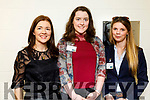 Marie Lynch (Kudos) Lilly London (YIT Your International Training) and Simona Markovska (YIT Your International Training), pictured at Kerry ETB Momentum 2019 with Kerry SciTech, on Friday last.