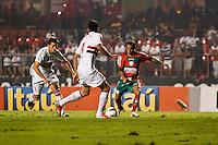 ATENÇÃO EDITOR: FOTO EMBARGADA PARA VEÍCULOS INTERNACIONAIS SÃO PAULO,SP,15 SETEMBRO 2012 - CAMPEONATO BRASILEIRO - SÃO PAULO x PORTUGUESA - Ananias jogador da Portuguesa   durante partida São Paulo x Portuguesa  válido pela 25º rodada do Campeonato Brasileiro no Estádio Cicero Pompeu de Toledo  (Morumbi), na região sul da capital paulista na noite deste sabado (15). (FOTO: ALE VIANNA -BRAZIL PHOTO PRESS).