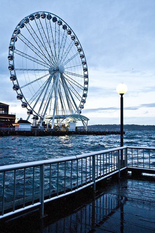 Rising sea levels, Seattle, King Tide, Highest recorded tide on record: 14.5 feet, 8:18 AM December 17, 2012, Shorelines at risk, Washington State, Pacific Northwest, United States,