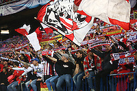 Fans of Atletico Madrid