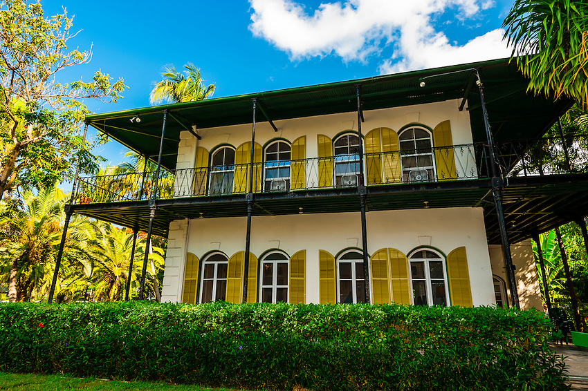 Hemingway House (Ernest Hemingway Home & Museum), Key West, Florida Keys, Florida USA