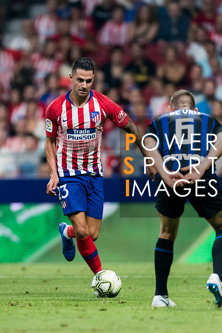 Victor Machin, Vitolo, of Atletico de Madrid in action during their International Champions Cup Europe 2018 match between Atletico de Madrid and FC Internazionale at Wanda Metropolitano on 11 August 2018, in Madrid, Spain. Photo by Diego Souto / Power Sport Images