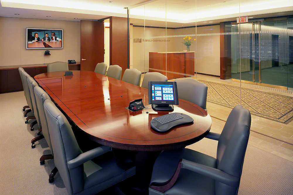Conference Training Room With Pop Up Connections