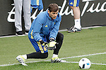 Spain's Iker Casillas during training session previous friendly match. May 31,2016.(ALTERPHOTOS/Acero)
