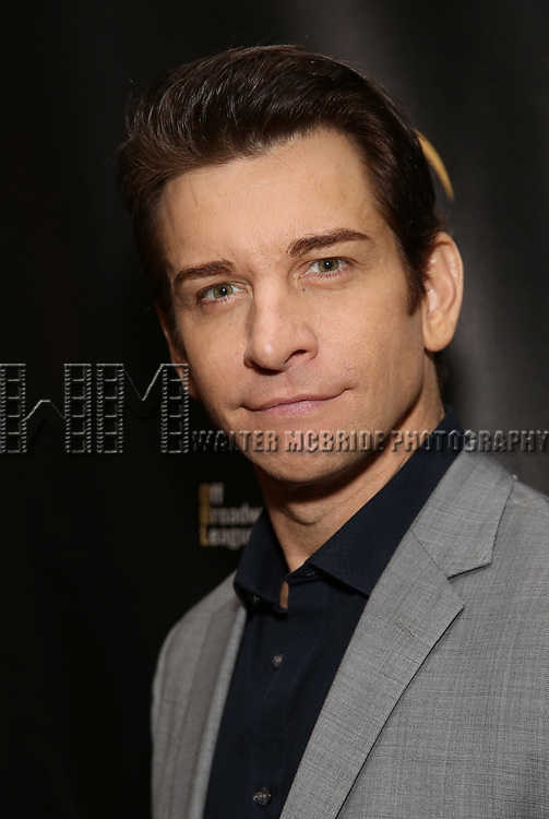 Andy Karl  attends 32nd Annual Lucille Lortel Awards at NYU Skirball Center on May 7, 2017 in New York City.