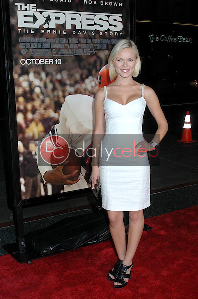 Anya Monzikova<br />at the Los Angeles premiere of 'The Express'. Grauman's Chinese Theatre, Hollywood, CA. 09-25-08<br />Dave Edwards/DailyCeleb.com 818-249-4998