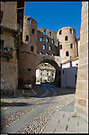 Porta Savoia di epoca romana, a susa