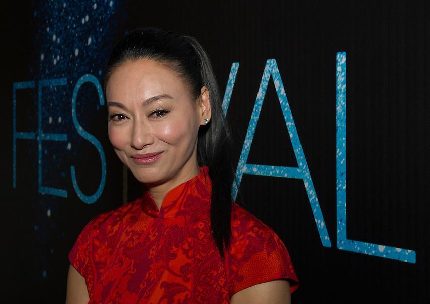 Kara Wai, Hong Kong actress, on the sixth day of the Festival Paris Cinema 2012. A Hong Kong evening at the Shangri La hotel at 10 avenue d'Iena, Paris. Tuesday 3rd July 2012