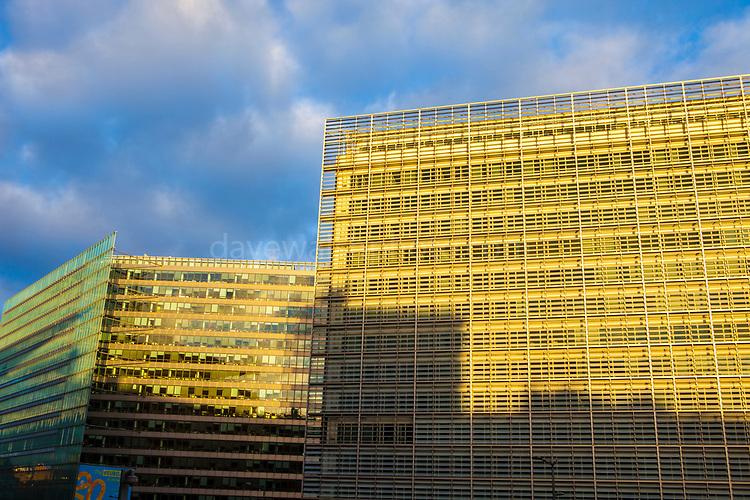 European Commission Building, Berlaymont, Schuman, Brussels, Belgium
