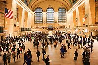 NOVA YORK, EUA, 21.12.2018 - TURISMO-EUA - Vista da Grand Central na ilha de Manhattan na cidade de Nova York nos Estados Unidos nesta sexta-feira, 21. (Foto: William Volcov/Brazil Photo Press)