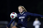 WINSTON-SALEM, NC - NOVEMBER 10: Georgetown's Paula Germino-Watnick. The Wake Forest University Demon Deacons hosted the Georgetown University Hoyas on November 10, 2017 at W. Dennie Spry Soccer Stadium in Winston-Salem, NC in an NCAA Division I Women's Soccer Tournament First Round game. Wake Forest advanced 2-1 on penalty kicks after the game ended in a 0-0 tie after overtime.