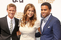 Warren Kole, Sonya Walger and Michael Ealy attend USA Network's 2012 Upfront Event at Lincoln Center's Alice Tully Hsll in New York, 17.05.2012.  Credit: Rolf Mueller/face to face /MediaPunch Inc. ***FOR USA ONLY***