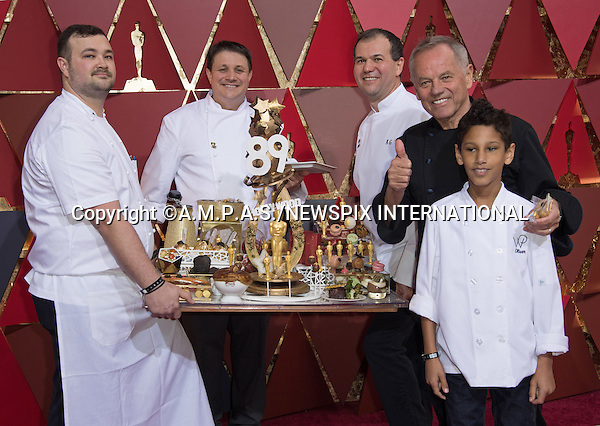 26.02.2017; Hollywood, USA: WOLFGANG PUCK<br /> at The 89th Annual Academy Awards at the Dolby&reg; Theatre in Hollywood.<br /> Mandatory Photo Credit: &copy;AMPAS/NEWSPIX INTERNATIONAL<br /> <br /> IMMEDIATE CONFIRMATION OF USAGE REQUIRED:<br /> Newspix International, 31 Chinnery Hill, Bishop's Stortford, ENGLAND CM23 3PS<br /> Tel:+441279 324672  ; Fax: +441279656877<br /> Mobile:  07775681153<br /> e-mail: info@newspixinternational.co.uk<br /> Usage Implies Acceptance of Our Terms &amp; Conditions<br /> Please refer to usage terms. All Fees Payable To Newspix International