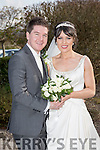 Maria Breen, Ballymac, daughter of Jimmy and Eileen Breen, and Emmett Hickey, Clonmel, son of Eugene and Shirley Hickey, were married at Clogher Church by Fr. Pat Flynn on Friday 10th April 2015 with a reception at Ballygarry House Hotel