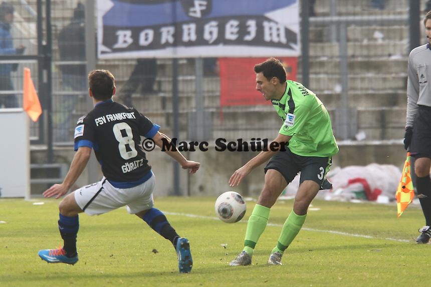 Gregorz Wojtkowiak (1860) gegen Michael Görlitz (FSV)- FSV Frankfurt vs. TSV 1860 München Frankfurter Volksbank Stadion
