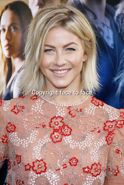 Julianne Hough at the Los Angeles premiere of &quot;The Mortal Instruments: City Of Bones&quot; held at the Cinerama Dome in Hollywood in Los Angeles, California, 12.08.2013.<br />