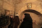 Bethlehem, a prayer at the Church of the Nativity