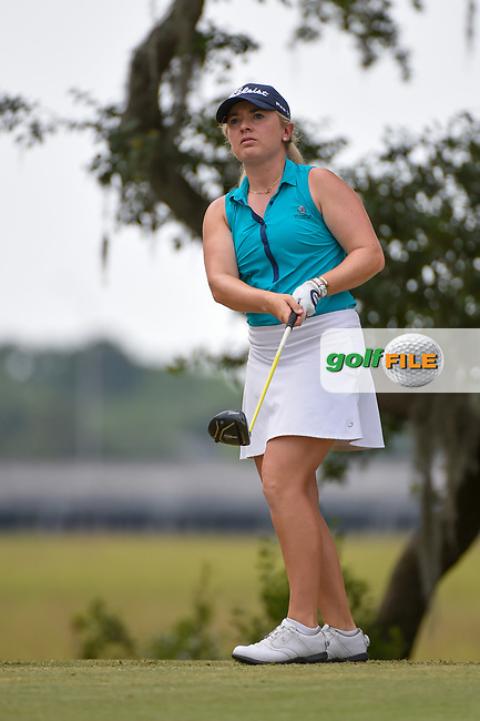 Bronte Law (ENG) watches her tee shot on 10 during round 2 of the 2019 US Women's Open, Charleston Country Club, Charleston, South Carolina,  USA. 5/31/2019.<br /> Picture: Golffile | Ken Murray<br /> <br /> All photo usage must carry mandatory copyright credit (© Golffile | Ken Murray)