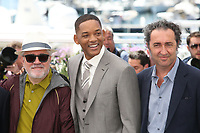 PEDRO ALMODOVAR, WILL SMITH AND PAOLO SORRENTINO - PHOTOCALL OF JURY AT THE 70TH FESTIVAL OF CANNES 2017