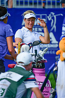 Suzann Pettersen (NOR) prepares to tee off on 1 during Friday's round 2 of the 2017 KPMG Women's PGA Championship, at Olympia Fields Country Club, Olympia Fields, Illinois. 6/30/2017.<br /> Picture: Golffile | Ken Murray<br /> <br /> <br /> All photo usage must carry mandatory copyright credit (&copy; Golffile | Ken Murray)