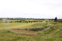 Action on the 18th fairway during the Matchplay Semi-Final of the Women's Amateur Championship at Royal County Down Golf Club in Newcastle Co. Down on Saturday 15th June 2019.<br /> Picture:  Thos Caffrey / www.golffile.ie