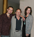 Castmate Justin Deas, wife Margaret Colin (ATWT) and son Sam came to see Guiding Light's Ron Raines as he headlines at Broadway Up Close and Personal: A Tribute to Frank Loesser on May 3, 2010 at the John F. Kennedy Center for the Performing Arts, Washington DC.  (Photo by Sue Coflin/Max Photos)