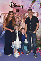 Michelle Heaton and Hugh Hanley<br /> 'The Nutcracker and the Four Realms' European Film Premiere at Westfield, London, England  on November 01,  2018.<br /> CAP/PL<br /> &copy;Phil Loftus/Capital Pictures