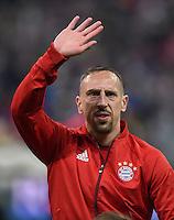 FUSSBALL CHAMPIONS LEAGUE  SAISON 2015/2016 ACHTELFINALE RUECKSPIEL FC Bayern Muenchen  - Juventus Turin      16.03.2016 Franck Ribery (FC Bayern Muenchen)