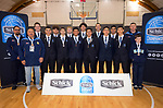 Boys AA bronze medallists Mount Albert Grammar School. 2019 Schick AA Secondary Schools Basketball National Championship post-tournament awards at the Central Energy Trust Arena in Palmerston North, New Zealand on Saturday, 5 October 2019. Photo: Dave Lintott / lintottphoto.co.nz