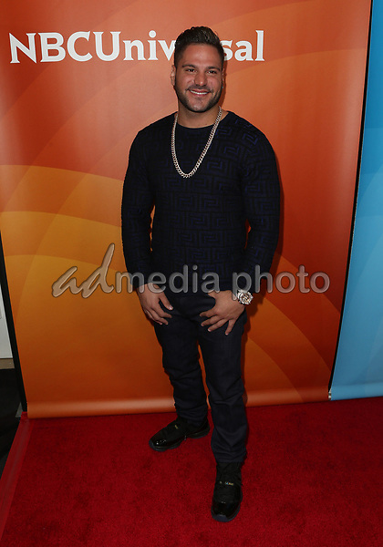 20 March 2017 - Beverly Hills California - Ronnie Ortiz-Magro. 2017 NBCUniversal Summer Press Day held at The Beverly Hilton Hotel. Photo Credit: AdMedia