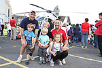 Ken, Breda, Aaronn, Daniel, Leah and Declan Brady at the Garda Station Open Day...Picture Jenny Matthews/Newsfile.ie