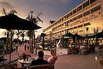 Sunset light on the Hotel del Coronado,+Coronado San Diego County, CALIFORNIA