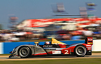 19 March 2011: The #2 Audi R15 of Tom Krisensen, Allan McNish and Dindo Capello is shown in action during the 12 Hours of Sebring, Sebring Internatonal Raceway, Sebring, FL. (Photo by Brian Cleary/www.bcpix.com)