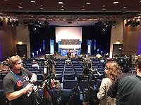 15.10.2018: Pressekonferenz Deutschland in Paris