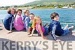 Enjoying the opening regatta of the season in Cahersiveen on Sunday were l-r; Orla O'Shea, Dervlah Healy, Keelin O'Shea, Liam O'Shea, Cliodhna O'Shea & James Cooper.