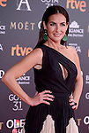 Belen Lopez attends to the Red Carpet of the Goya Awards 2017 at Madrid Marriott Auditorium Hotel in Madrid, Spain. February 04, 2017. (ALTERPHOTOS/BorjaB.Hojas)