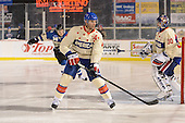 Rochester Amerks defensemen Drew Bagnall (4) during the third period of The Frozen Frontier outdoor AHL game against the Lake Erie Monsters at Frontier Field on December 13, 2013 in Rochester, New York.  (Copyright Mike Janes Photography)