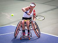 Amstelveen, Netherlands, 19 Augustus, 2020, National Tennis Center, NTC, NKR, National Wheelchair Tennis Championships, Woman's single: Marjolein Buis (NED)<br /> Photo: Henk Koster/tennisimages.com