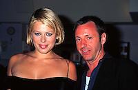 """©KATHY HUTCHINS/HUTCHINS.""""FALL"""" PREMIERE   6/26/97  LA, CA.AMANDA DE CADENET AND ERIC SCHAEFFER"""