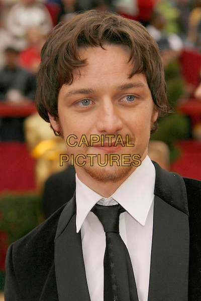 JAMES McAVOY.The 79th Annual Academy Awards - Arrivals held at the Kodak Theatre, Hollywood, California, USA,.25 February 2007..oscars red carpet portrait headshot.CAP/ADM/RE.©Russ Elliot/AdMedia/Capital Pictures.
