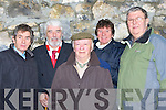 ENTERTAINERS: Local entertainers who attended the Removal Mass of the late Christy Hennessy on Thursday 27th December, in St John's Church, Tralee were l-r: Billy Curtin, Johnny Wall, Johnny O'Shea, DJ Curtin and Joe Boylan.The Removal Mass of the late Christy Hennessy from Saint Johns Tralee on Thursday 27th December,    Copyright Kerry's Eye 2008