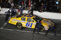 Jul. 4, 2008; Daytona Beach, FL, USA; Nascar Nationwide Series driver Kevin Lepage pits during the Winn-Dixie 250 at Daytona International Speedway. Mandatory Credit: Mark J. Rebilas-