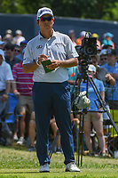 Hideki Matsuyama (JPN) looks over his tee shot on 6 during 3rd round of the 100th PGA Championship at Bellerive Country Club, St. Louis, Missouri. 8/11/2018.<br /> Picture: Golffile | Ken Murray<br /> <br /> All photo usage must carry mandatory copyright credit (&copy; Golffile | Ken Murray)