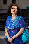 Reena Mohammad, 57, is a doctor and social activist from Pakistan who fled to the US because of harassment from government officials and abuse by her ex-husband. She was granted asylum this year.<br /> <br /> Photo by Danny Ghitis