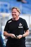 Trainer Markus Gisdol (1. FC Koeln) lacht vor dem Spiel.<br /> <br /> Sport: Fussball: 1. Bundesliga: Saison 19/20: 28. Spieltag: TSG 1899 Hoffenheim - 1. FC Koeln, 27.05.2020<br /> <br /> Foto: Markus Gilliar/GES/POOL/PIX-Sportfotos.<br /> <br /> Nur für journalistische Zwecke! Only for editorial use!<br /> <br /> Gemäß den Vorgaben der DFL Deutsche Fußball Liga ist es untersagt, in dem Stadion und/oder vom Spiel angefertigte Fotoaufnahmen in Form von Sequenzbildern und/oder videoähnlichen Fotostrecken zu verwerten bzw. verwerten zu lassen. DFL regulations prohibit any use of photographs as image sequences and/or quasi-video.