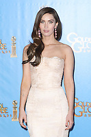 BEVERLY HILLS, CA - JANUARY 13: Megan Fox in the press room at the 70th Annual Golden Globe Awards at the Beverly Hills Hilton Hotel in Beverly Hills, California. January 13, 2013. Credit MediaPunch Inc. /NortePhoto