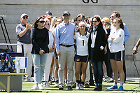 BERKELEY, CA - April 23, 2017: Cal Bears Women's Lacrosse vs. Colorado at California Memorial Stadium. Final Score: Colorado 18, Cal Bears 6