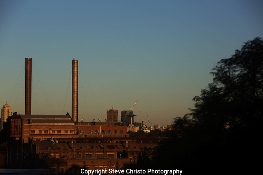 The old Balmain Power Station at White Bay. New South Wales, Sydney, Australia. Saturday 27th April 2013. Photo: (Steve Christo)