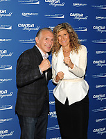 www.acepixs.com<br /> <br /> September 11 2017, New York City<br /> <br /> Boxer Raymond Mancini and Edie Lutnick at the Annual Charity Day hosted by Cantor Fitzgerald, BGC and GFI at Cantor Fitzgerald on September 11, 2017 in New York City<br /> <br /> By Line: William Jewell/ACE Pictures<br /> <br /> <br /> ACE Pictures Inc<br /> Tel: 6467670430<br /> Email: info@acepixs.com<br /> www.acepixs.com